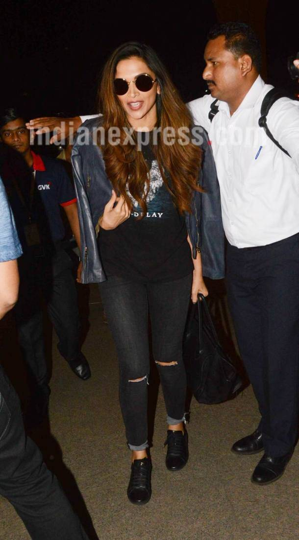 Ranveer Singh, Deepika Padukone and others spotted at airport