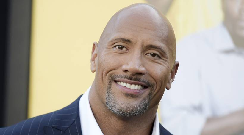 Dwayne Johnson Named People's Sexiest Man Alive 2016