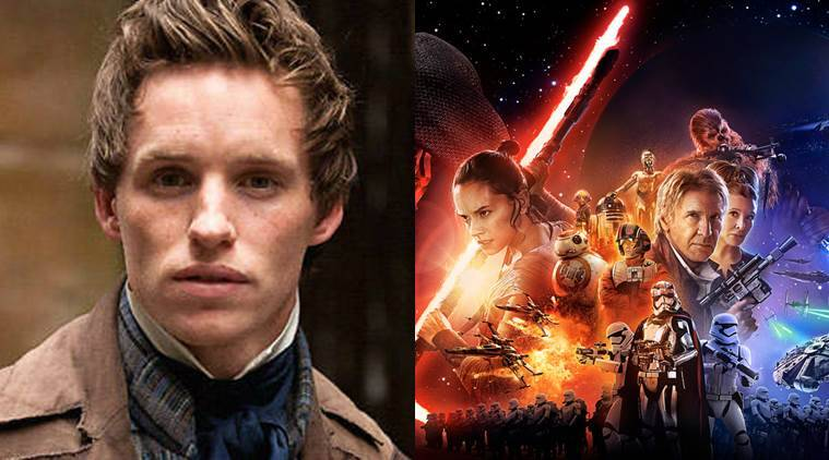 eddie redmayne, star wars