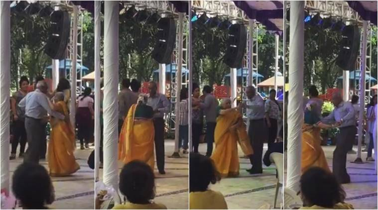 elderly couple dancing, viral videos, elderly couple dancing videos, indian senior couple dancing videos, dancing videos, dancing viral videos, india news, trending news, latest news