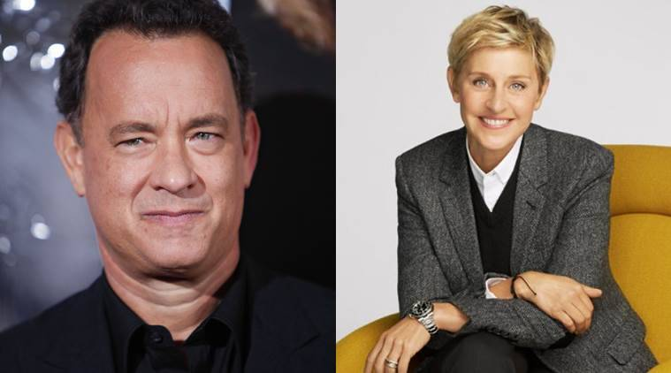 tom hanks, ellen degenres