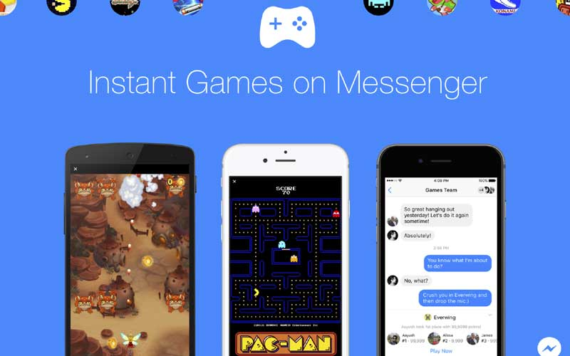 Facebook, Facebook Messenger, Facebook Messenger PacMan, Facebook Messenger Play Games, Messenger Instant Games, Play games on Facebook Messenger, Facebook Messenger Play Games how, How to play games on Messenger