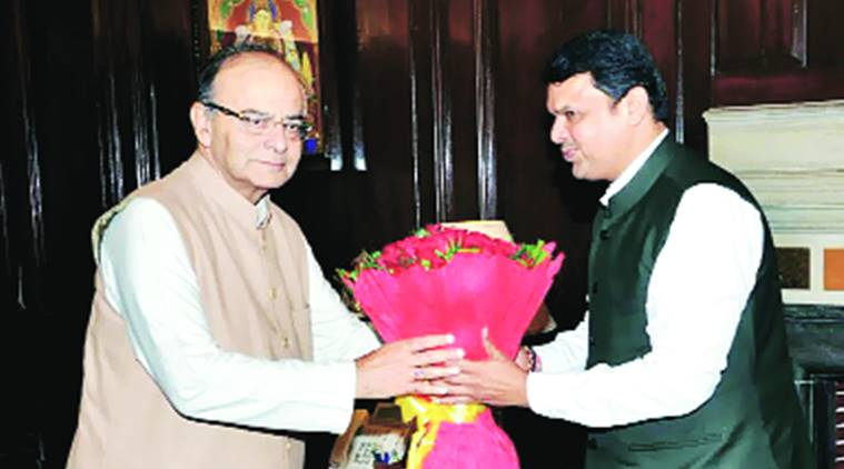 Maharashtra, funds, GST, Chief Minister, Devendra Fadnavis, Union Finance Minister Arun Jaitley, Prime Minister's Principal Secretary, Nripendra, Secretary Economic Affairs Shaktikanta Das, india news, indian express