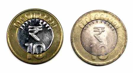 rbi, reserve bank of india, 10 rs coin, new 10 rs coin, india news, indian express,