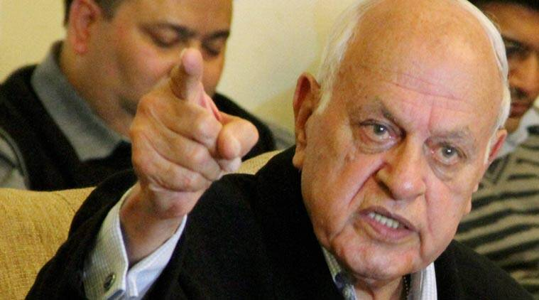 Kashmir, farooq abdullah, kashmir crisis, kashmir unrest, kashmir protests, jammu and kashmir, congress, bjp-pdp alliance, india-pakistan, india news, indian express