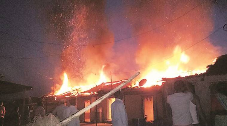 pune, pune fire, village fire pune, pune village fire, pune fire mulkhed, india news, pune news, latest news