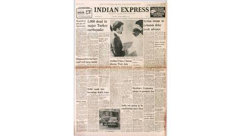 Deng posters, Bhutto on India, UN for Palestine, Central government, three children, Turkey quake, Deng Xiaoping, South China metropolis, indian express edit