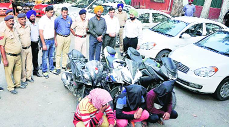 Chandigarh, vehicle thieves, vehicle thieves held, thief brothers, india news, indian express