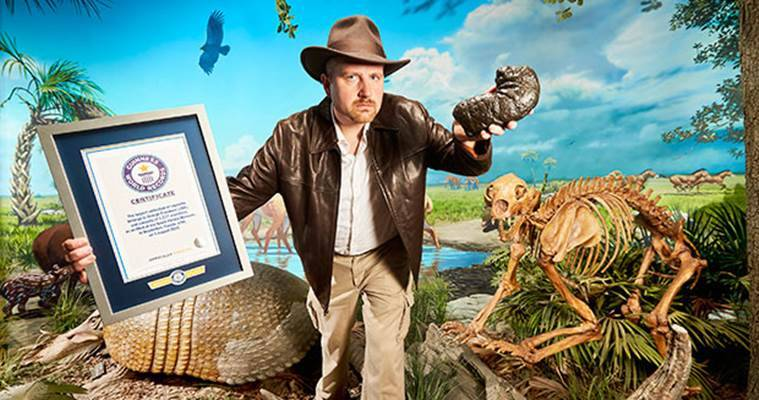 George Frandsen, Guinness World Records,  World Records for poop collection, George Frandsen Guinness World Records for poop collection, world record for collecting dinosaur poop,   fossilised faeces, latest news