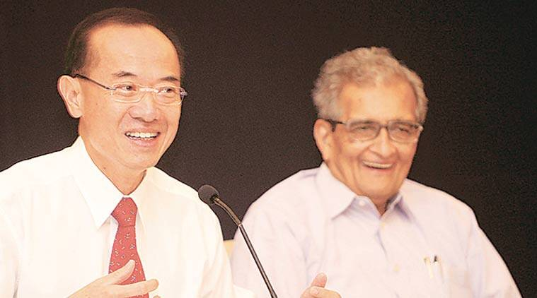 George Yeo, Nalanda University, Amartya Sen, Nalanda University chancellor, Nalanda University chancellor ousted, Nalanda University new chancellor, India education India news