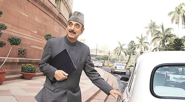 Ghulam Nabi Azad, Azad demonetisation comments, J&K BJP, Congress thinking, demonetisation, old currency notes, 500 and 1000 rupee notes banned, India news, latest news, indian express