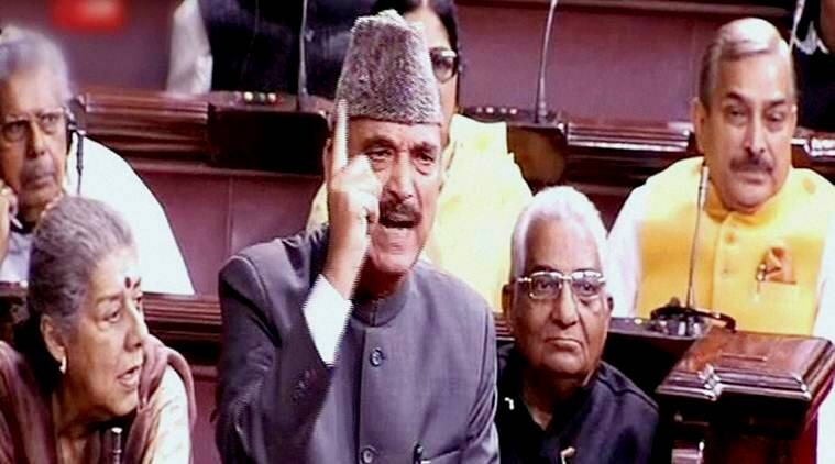 Ghulam Nabi Azad, demonetisation, rajya sabha, rajya sabha adjourned, opposition protests, opposition protests over demonetisation, parliament winter session, indian express, india news