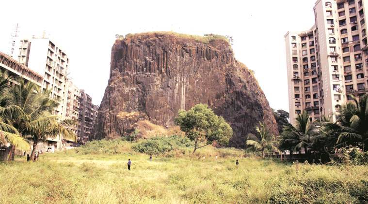 A 200-feet monolith of black basalt rock, Gilbert Hill in Andheri is a Grade II heritage structure. File