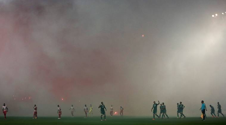 greece football, greeek football, greece football match called off, greece anti terrorism, anti terrorism, terrorism, referee house burned, football, football news, sports, sports news