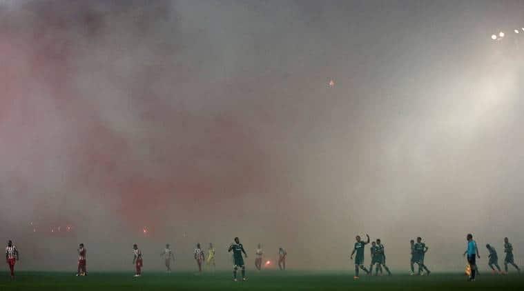 greece football, greeek football, greece football match called off, greece anti terrorism, anti terrorism, terrorism, referee house burned, football, football news, sports, sports news