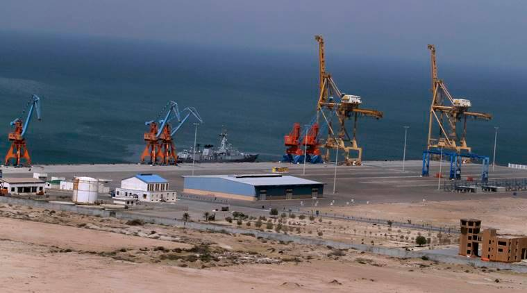 china balochistan, china cargo ship, chinese cargo ship, balochistan port, gwadar port, gwadar china, world news, balochistan news