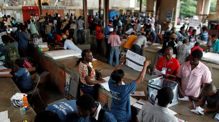Haiti presidential elections, Haiti elections, Haiti hurricane, Hurricane Matthew, Haiti news, world news, latest news, indian express