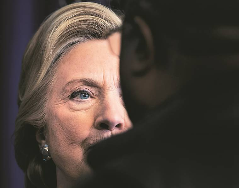 hillary clinton, us elections, us presidential elections, hillary clinton loss, hillary clinton polls, us elections polls, us elections result, world news, indian express,