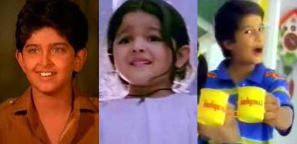 Hrithik Roshan, Alia Bhatt, Shahid Kapoor, child actors, alia bhatt image