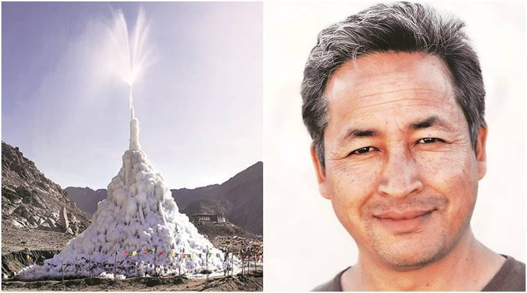 Sonam Wangchuk, Ice Stupa Artificial Glacier project, SECMOL, Students' Educational and Cultural Movement of Ladakh, Rolex Laureates are Andrew Bastawrous, Educationalist-environmentalist, India news, Latest news,