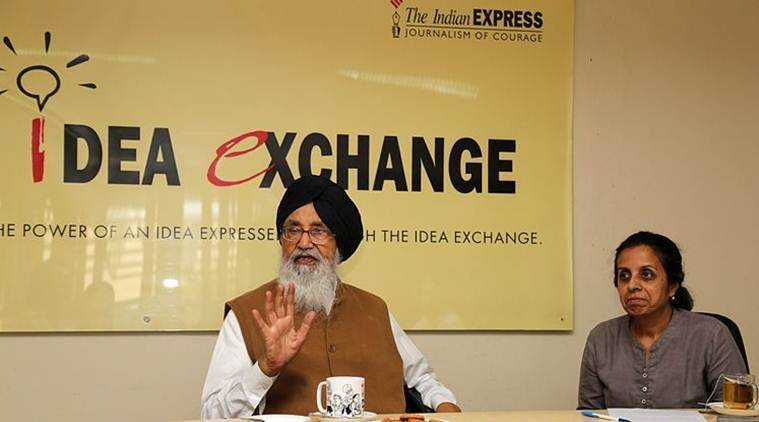 Punjab, Parkash Singh Badal, Punjab CM, punjab government, punjab elections, sad, aap, bjp, congress, punjab sad, punjab aap, punjab bjp, punjab congress, india news, indian express, indian express news