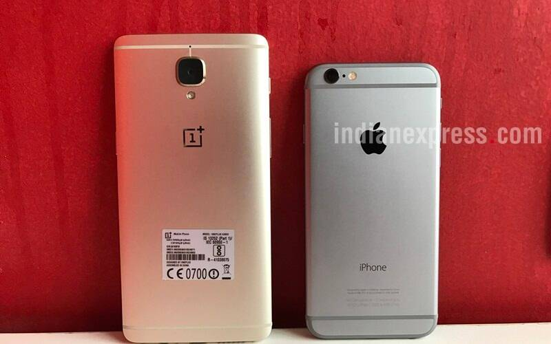 oneplus, apple, oneplus 3, oneplus 3 vs iphone 6, iphone 6 vs oneplus 3, best mid level smartphone to buy, android vs ios, apple vs oneplus, best Rs 30000 phone to buy, oneplus 3T, oneplus 3 vs Oneplus 3T, smartphone, oneplus 3 review, iphone 6 review, iphone 6s technology, technology news