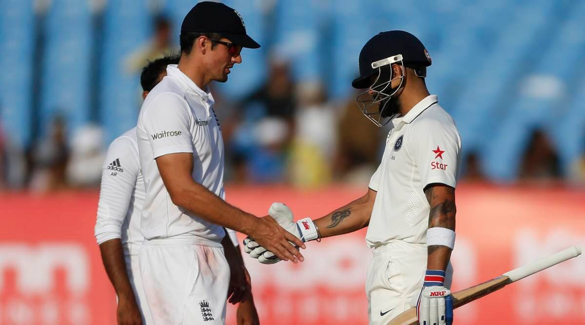 'Virat Kohli defending the pitch is a BCCI thing': Alastair Cook, Andrew Strauss say Indian skipper 'looking after groundsmen' - The Indian Express