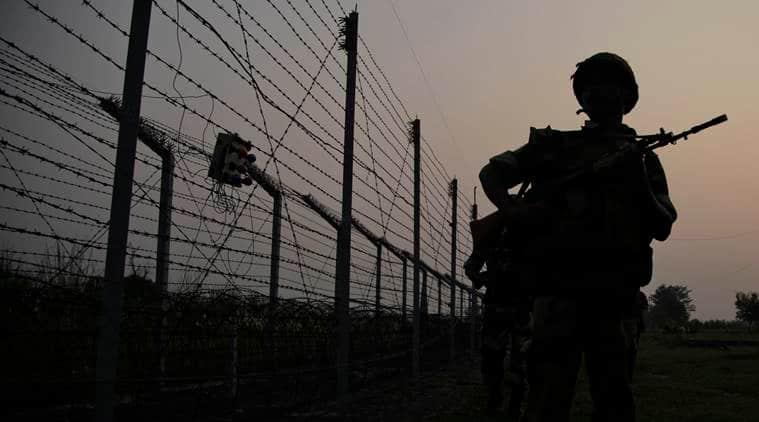 Akhnoor, BSF, BSF akhnoor intruder, Akhnoor cross border intruder, Akhnoor Pakistan Intruder