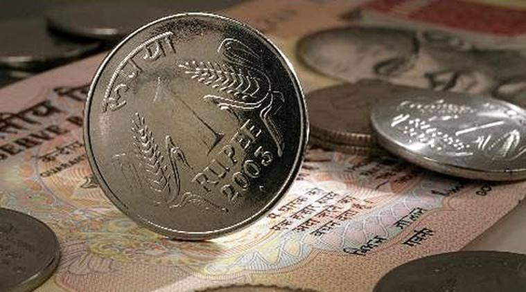 rupee, rupee today, rupee against dollar, rupee on Monday, rupee prices today, Monday rupee, dollar price, india news, business news, indian express,