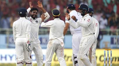 India vs England, 2nd Test: Spin twin strike late, break visitors' resistance