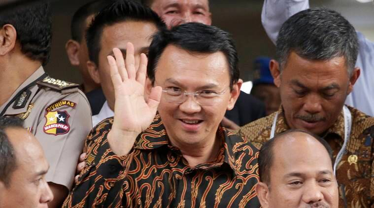 Indonesia blasphemy case, Indonesia blasphemy protests, Jakarta governor, Basuki ``Ahok'' Tjahaja Purnama, Indonesia news, world news, latest news, indian express