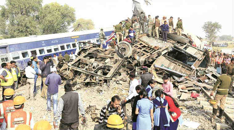 Indore Patna Express, Indore Patna Express derailment, Indore Patna, train derailment, Nitish Kumar, Indore Patna Express death toll, Indore Patna Express death, train derailment death toll, train derailment death, india news