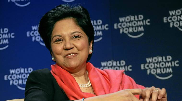 Indra K. Nooyi is stepping down as Pepsi's CEO