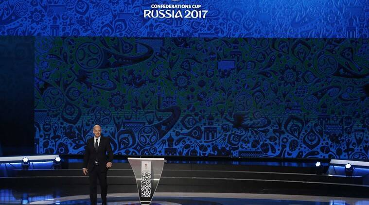 Gianni Infantino, Gianni Infantino FIFA, FIFA Gianni Infantino, Infantino FIFA, Confederations Cup, Confederations Cup Football, Football Confederations Cup, Sports