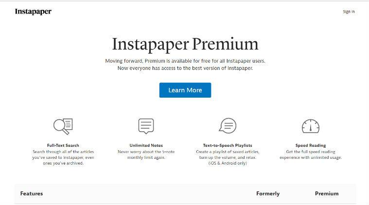 Instapaper, Instapaper premium, Instapaper Premium free, free Instapaper Premium subscription, Instapaper free, Paper, bookmarking app, social media, technology, technology news