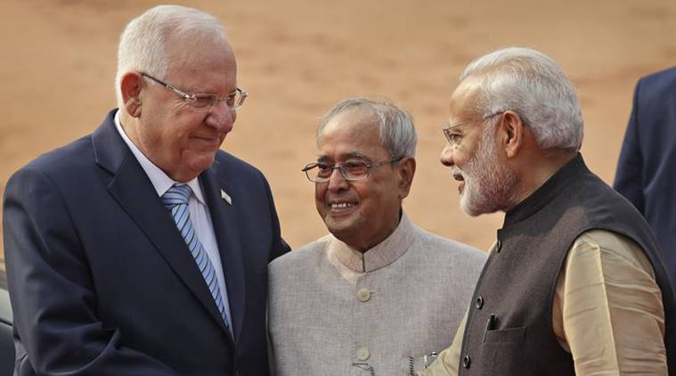 reuven rivlin, narendra modi, israeli president, israeli president in india, rivlin india visit, pranab mukherjee, india-israel relations