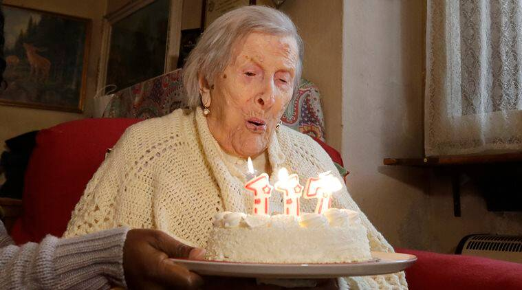 oldest woman, oldest person, world oldest woman, world oldest woman birthday, italy oldest woman birthday, oldest woman 117 birthday, world news, latest news, italy news, indian express