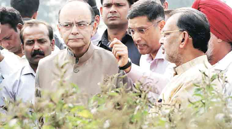 arun jaitley, storage of grains, super arhar, pulses demand, pulses price,  pulses prices, pulses  production, india news, unseasonal rainfall, agriculture ministry, indian express,indian farmer, minimum support prices