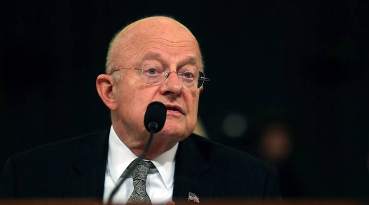 james clapper, clapper resigns, clapper resignation, us spymaster, us spymaster clapper, us spymaster resigns, world news