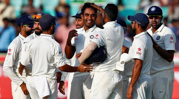 India vs England, Ind vs Eng, Ind vs Eng 2nd Test, Jayant Yadav, Jayant, Jayant Yadav test debut, Jayant Yadav test wicket, Cricket news, Cricket