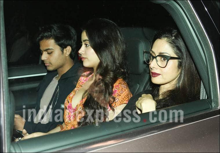 Sridevi okays daughter Jhanvi and Shikhar's relationship !