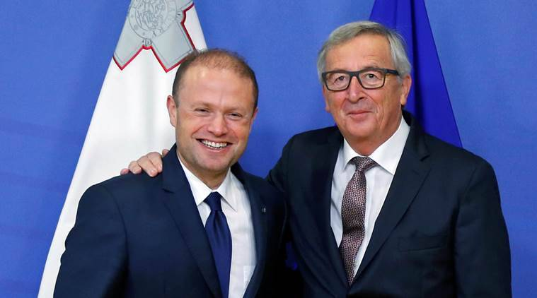 Europen Union, EU, EU president, Incoming EU president Malta, Joseph muscat, Brexit talks, UK, world news, indian express news