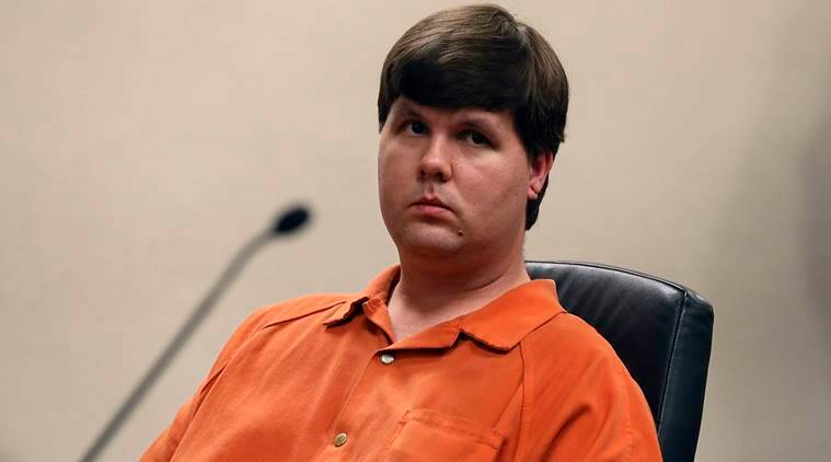Justin Ross Harris sits in Cobb County Magistrate Court during his murder trial in Marietta, Georgia, U.S. July 3, 2014. REUTERS/Kelly Huff/Pool/File Photo