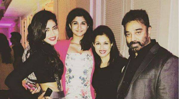 Speculations were rife that daughter Shruti Haasan was responsible for break up between Kamal Haasan and Gautami.