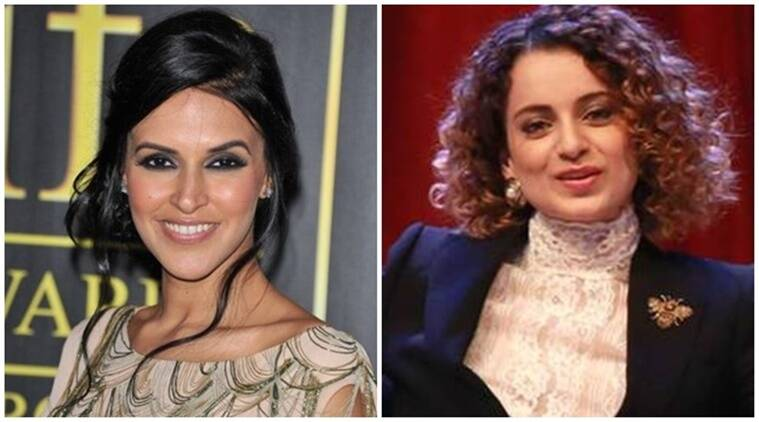 Neha Dhupia #NofilterNeha, neha dhupia kangana Ranaut, Neha Dhupia comments on Kangana Ranaut, neha dhupia chat show, kangana ranaut on hritik roshan, kangana ranaut rakesh roshan, kangana ranaut slammed on twitter, kangana twitter, kangana news, neha dhupia upcominng news, neha dhupia news, bollywood news, bollywood updates, entertainment news, indian express news, indian express