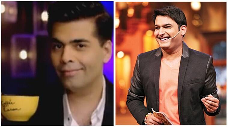Kapil Sharma Koffee With Karan, Karan Johar Kapil Sharma Koffee With Karan, Karan Johar Koffee With Karan, Koffee With Karan, Kapil Sharma, Koffee With Karan updates, Koffee With Karan guests, Koffee With Karan upcoming episodes, Karan Johar news, Kapil Sharma news, television news, entertainment news, indian express news, indian express