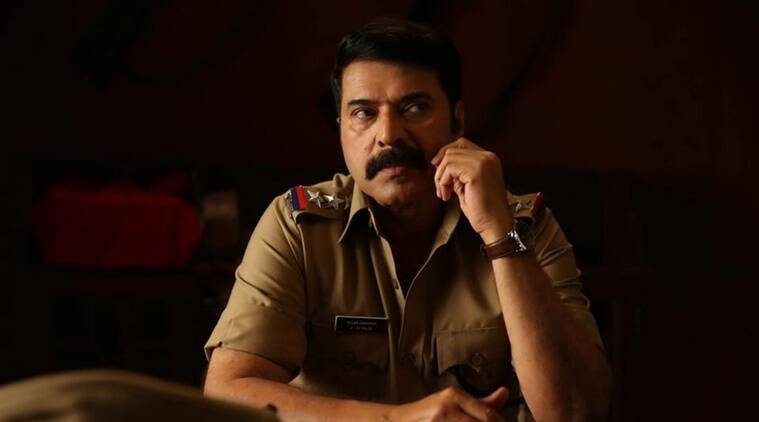 Mammooty in a still from Kasaba. (Source: File photo)