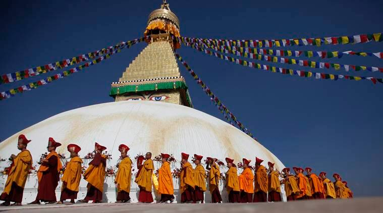 Kathmandu, Kathmandu Boudhanath Stupa, world heritage Boudhanath Stupa, Boudhanath Stupa, Boudhanath Stupa nepal, nepal earthquake, nepal earthquake Boudhanath Stupa, unesco, unesco Boudhanath Stupa, latest news, latest india news, latest world news