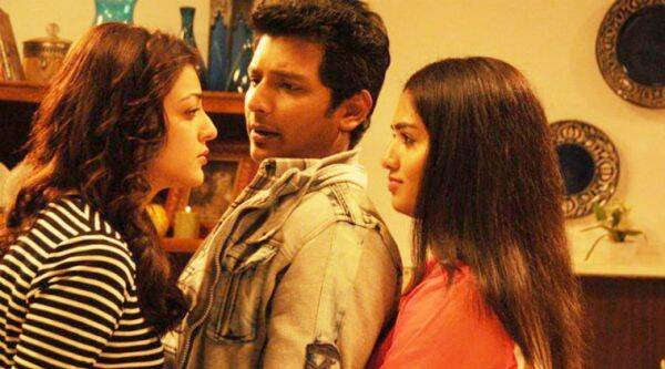 A still from Kavalai Vendam ,latest romantic-comedy film in Tamil
