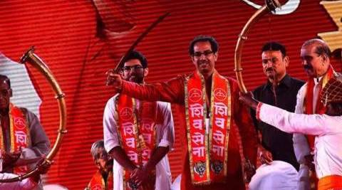 Shiv Sena, Mumbai, Marathi identity, Brihanmumbai Municipal Cooperation, BMC polls, Aditya Thackeray, Aditya Thackeray shiv sena, Mumbai polls, mumbai assembly polls, latest news, latest india news